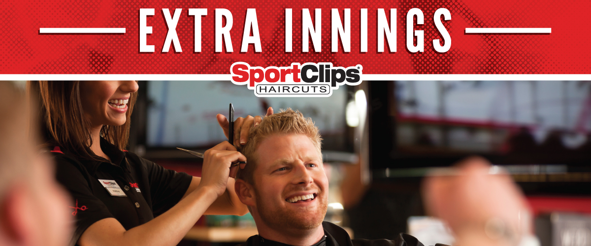 The Sport Clips Haircuts of Winston Salem Extra Innings Offerings